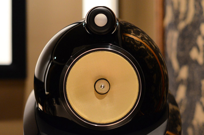 B&W 802 Diamond tweeter/midrange