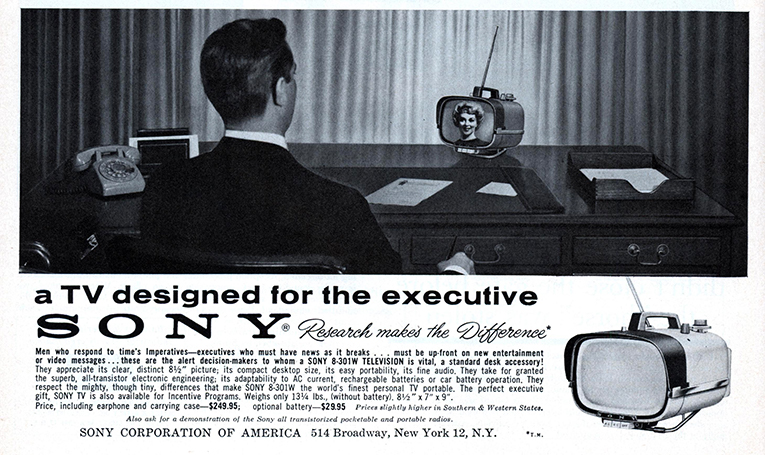 Sony portable TV